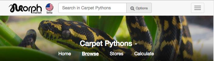 Carpet Pythons are Live