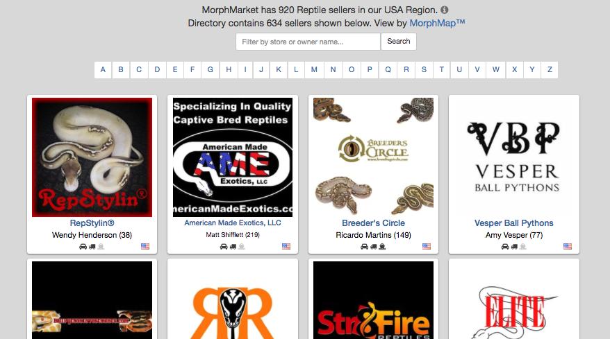 Seller Directory Search & Branding