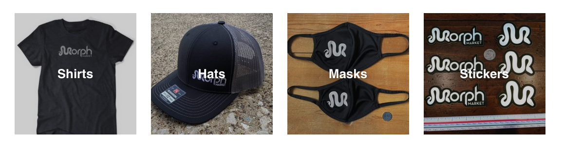Hats and New #MorphMerch