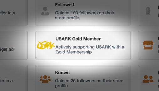 USARK Membership Badges